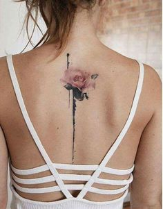 Rose tattoos for women are the latest in-vogue fashion. We cover the most popular rose tattoos for women, their meanings, and examples. Neue Tattoos, Body Art Tattoos, Girl Tattoos, Small Tattoos, Tattoos For Guys, Ladies Tattoos, Woman Tattoos, Faith Tattoos, Piercings