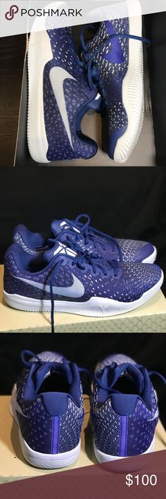 41279db456c7 New - Nike Mamba Instinct - size 10 New with half box Nike Mamba Instinct - Paramount  Blue Blue Tint Men s 10 Great for basketball and any Kobe Bryant fan ...