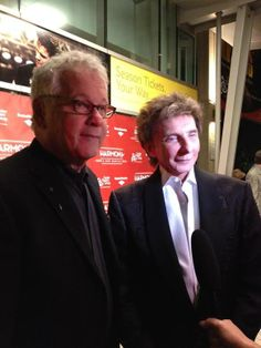 Bruce Sussman and Barry Manilow Harmony a new musical red carpet.