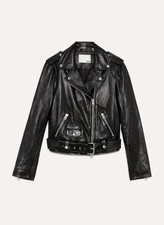 5eb4723d3c5 Iconic leather jacket - Wilfred Free LENNON LEATHER BIKER