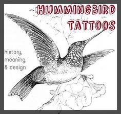 Hummingbirds are a very popular tattoo symbol. Learn about the design, symbolism, history, and meaning of the hummingbird tattoo.