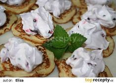 Lívance recept - TopRecepty.cz Camembert Cheese, Waffles, Tacos, Pie, Breakfast, Ethnic Recipes, Desserts, Torte, Morning Coffee