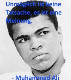 Hier geht es zum Artikel, welche 5 Dinge, wir von Muhammad Ali lernen können...