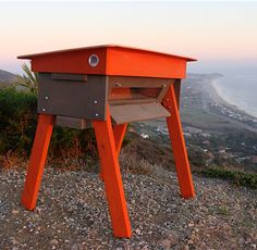 BuBees - a modern take on the top-bar bee hive. #beekeeping