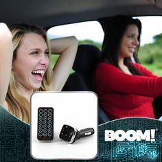 Lleva tu música favorita hasta tu coche y haz que tu viaje sea el mejor. #ReproductorMP3ConModuladorFM