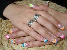 unghie decorate con gel