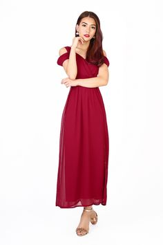 5eac244f864 RESTOCK6  Heather Maxi Dress in Wine Red - MGP