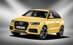 Audi launch new RS Q3 model. First RS model to join the Q family