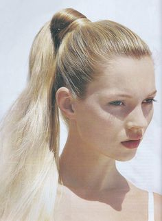 Kate Moss by Bruce Weber for US Vogue June 1996