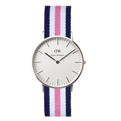 Daniel Wellington Classic Southampton in stainless steel - also available in rose gold. #DanielWellington #watches