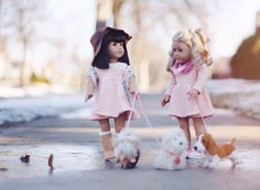 A beautiful American Girl Doll photo.