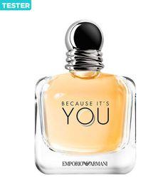 Giorgio Armani Because It's You Eau De Parfum Spray oz Tester - Cosas de chica - perfume Perfume Armani, Armani Fragrance, Fragrance Parfum, Womens Fragrance, Emporio Armani Because It's You, Emporio Armani Stronger With You, Armani Brand, Beauty, Outfits