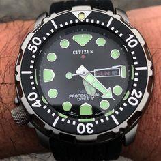 Citizen 300m Titanium 5503