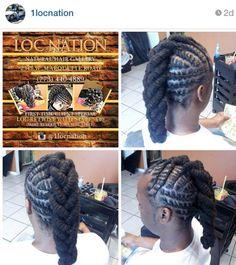 Mens Dreadlock Styles, Dreads Styles, Braid Styles, Dreadlock Hairstyles, African Hairstyles, Girl Hairstyles, Braided Hairstyles, Braids For Kids, Girls Braids