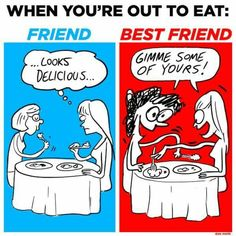 10 best friend memes for national best friends day 2018 that are actually funny Funny Best Friend Memes, Crazy Funny Memes, Best Friend Quotes, Really Funny Memes, Funny Relatable Memes, Short Friendship Quotes, Funny Friendship, Best Friend Vs Friend, Bff Quotes
