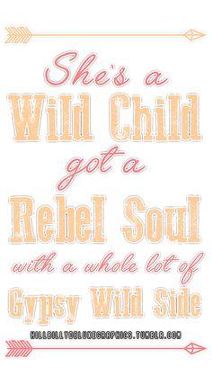 Wild Child- Kenny Chesney