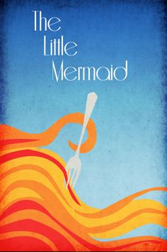 Disney Art The Little Mermaid Poster movie poster disney poster 11x17. $19.00, via Etsy.