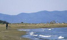 The beach of Marina di Grosseto, #Maremma, #Tuscany, #Italy