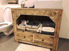 pallet bathroom storage cabinet
