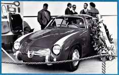vintage photo Italia car Abarth Fiat 750 Zagato auto foto Paris France 1957 | eBay