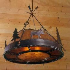 Moose chandelier                                                                      Select Finish:           Please make a Finish selection for the Mountain Woods Chandelier