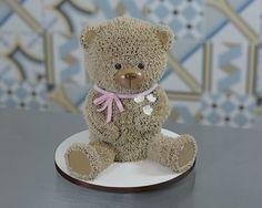 Bolo ursinho ! Bear cake ! 💗💗💗