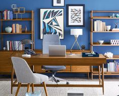 West Elm Workspace - Mid-Century
