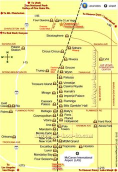 MGM Grand Las Vegas Property Map  Las Vegas Hotel Maps