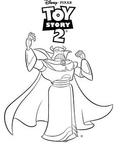 1000 images about zurg on pinterest toy story emperor for Toy story 2 coloring pages