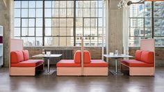 Lagunitas Lounge & Collaborative Seating   Coalesse