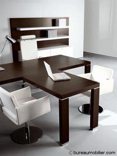 Bureaux de direction - Mobilier: Bureau Cubiko