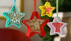 DIY Cookie Cutter Ornaments For Less Than $1