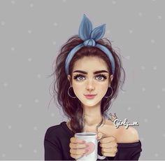 รูปภาพจาก We Heart It #black #blue #coffe #girly #hairband #heart #sf #weheartit #braidy #cute #love #girly_m