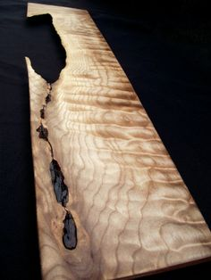 Natural unique Rustic Wood Cutting serving by downtoearthwoodworks