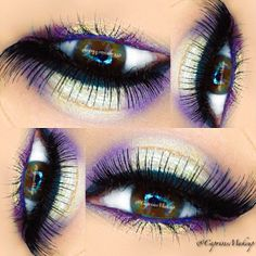 so gunna try this. my color of eyes Makeup Goals, Makeup Tips, Beauty Makeup, Hair Makeup, Hair Beauty, Beautiful Eye Makeup, Gorgeous Eyes, Love Makeup, Makeup Style