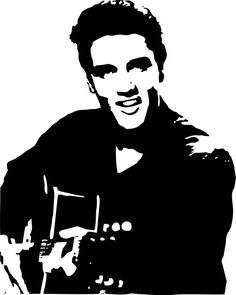 Elvis Wall Art by LynchmobGraphics on Etsy