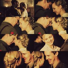 Parade's End... Christopher and Valentine...ohhh their love story is perfect, perfect agony in the books...siiiggghhhhhh