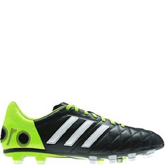 new arrival 46056 3b8f0 adidas Adipure 11Pro TRX FG Black Running White Solar Slime Firm Ground  Soccer Cleats - model F33102 - Only  144.99