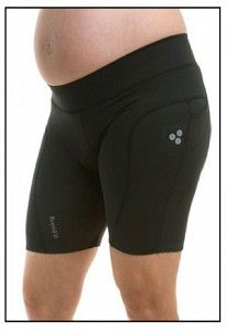 Love biking?  Keep it up during your pregnancy with the Lucille Maternity Bike Short.  Find it at MyaMaternity.com.