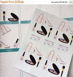 Huge Sale Planner Stickers Purse Makeup by twiceasnicelettering