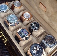 Collection of watches is a sign of a true gentleman.....