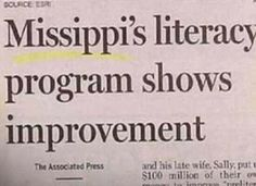 Sadly, this MAY show improvement! (My apologies to my MS relatives.)