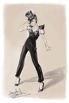 Florence Foresti habillée par Jean-Paul Gaultier dans Foresti Party à Bercy | meltyFashion