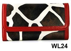 Red Giraffe Print Clutch Wallet with Checkbook Holder in Choice of Trim Colors FASH Limited, http://www.amazon.com/dp/B00272KRE8/ref=cm_sw_r_pi_dp_kSgcrb1M80PJQ
