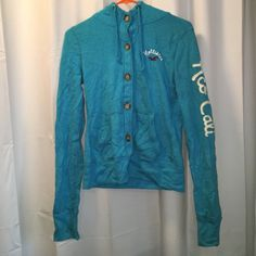 Hollister hoodie Button down hollister hoodie size small. Hollister Tops Sweatshirts & Hoodies
