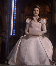 Young Snow White, Once Upon a Time playedby Madison Bailey