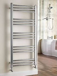 Kudox Timeless Designer Towel Radiator Chrome Stylish, beautifully crafted steel towel warmer that complements both contemporary and traditional bathrooms. http://www.comparestoreprices.co.uk/january-2017-9/kudox-timeless-designer-towel-radiator-chrome.asp