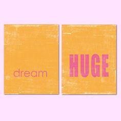 Dream Huge - Set by Red Letter Words $130
