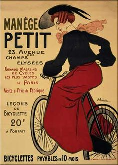Manege Petit Bicyclettes by Adrien Barrère (1895)