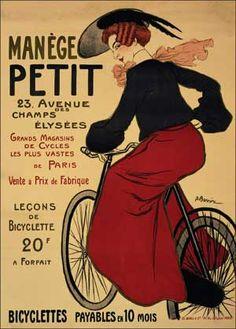 Manege Petit Bicyclettes by Adrien Barrère (1895)